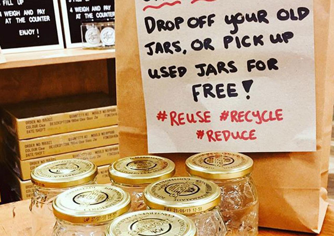 Jar recyclery