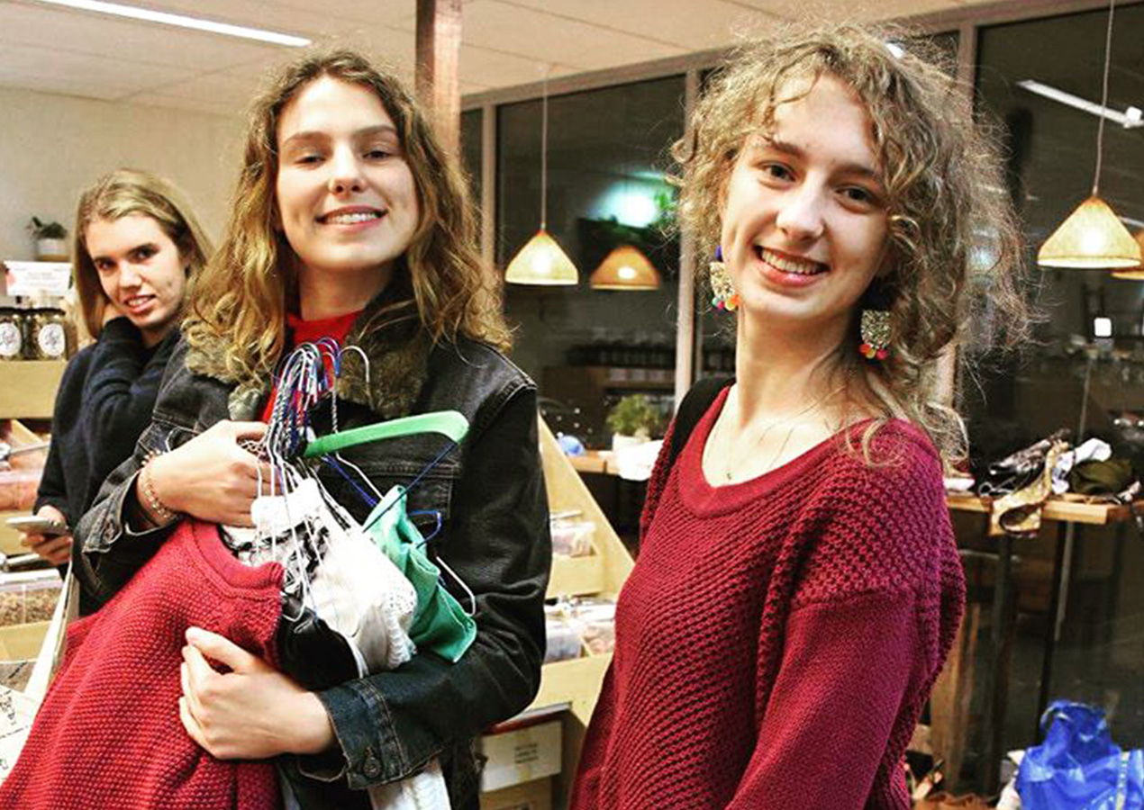 Our clothing swap and sell was a success